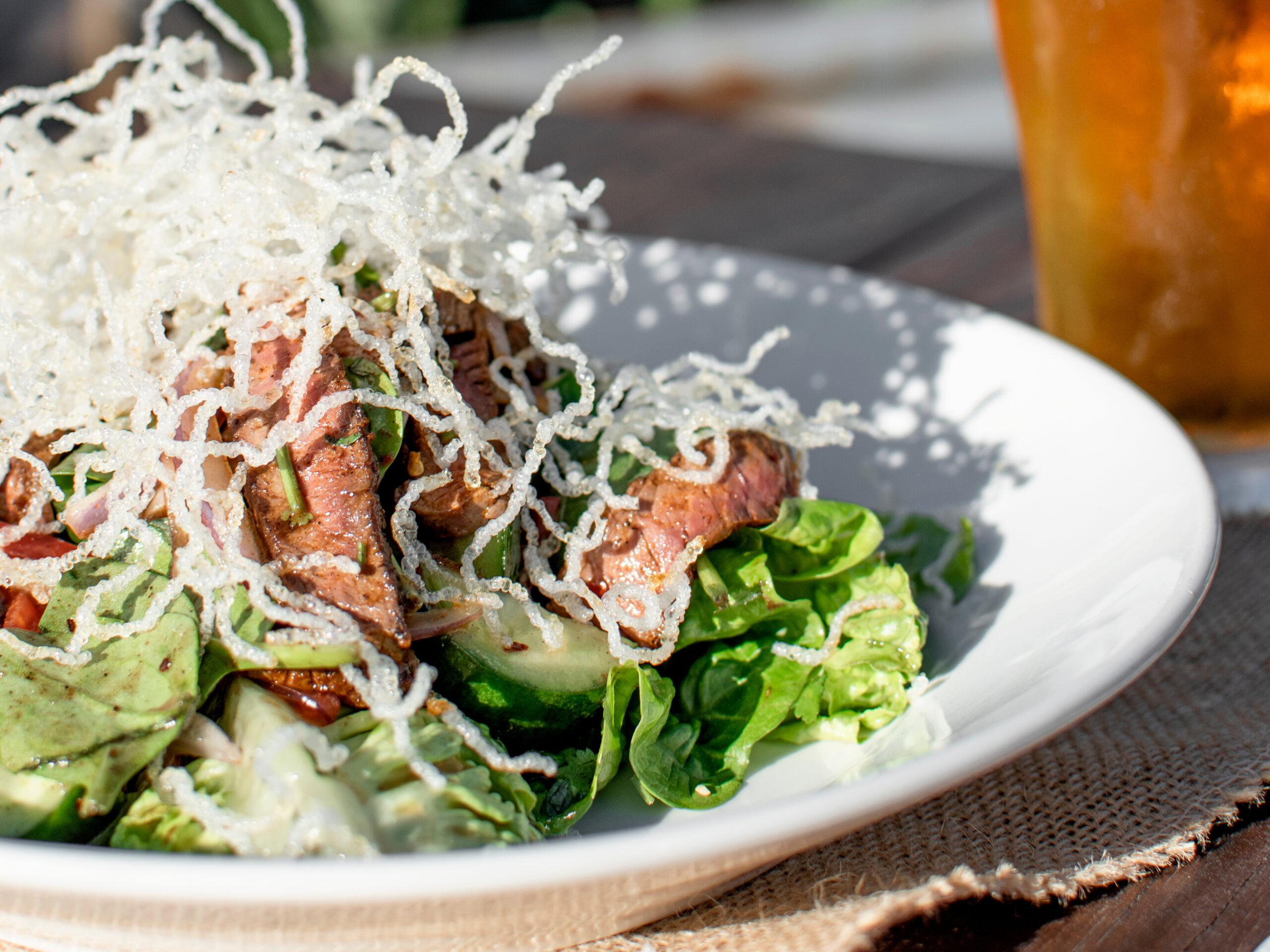 Lunch Specials the Thai Beef Salad
